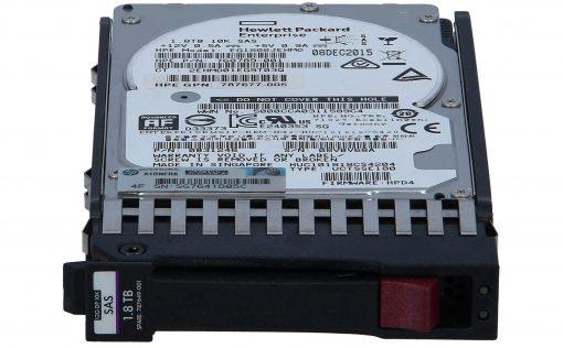 HP 1.8TB SAS 10K 12G SFF G7